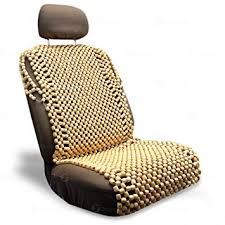 Zone Tech Natural Royal Wood Bead Seat Cover ... - Amazon.com