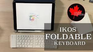 <b>Ultra Slim</b> Mini BT <b>Folding</b> Keyboard by IKOS | Perfect for Your iPad ...