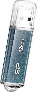Купить <b>USB</b>-<b>накопитель Silicon Power Marvel</b> M01 128GB Blue по ...