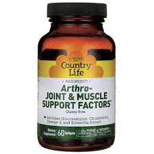 Country Life <b>Arthro</b>-<b>Joint & Muscle</b> Suppo- Buy Online in Suriname ...