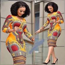 Buy <b>dashiki african dresses</b> for women free size and get free ...