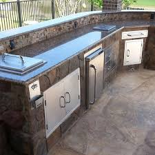 patio outdoor stone kitchen bar:  help you understand the range of options and configurations possible with the clifrock system amp work to get you a price on your dream outdoor kitchen