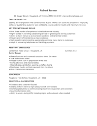 resume template food service resume skills food service industry food service resume midlevel entry level resume examples for food service cv example food service resume