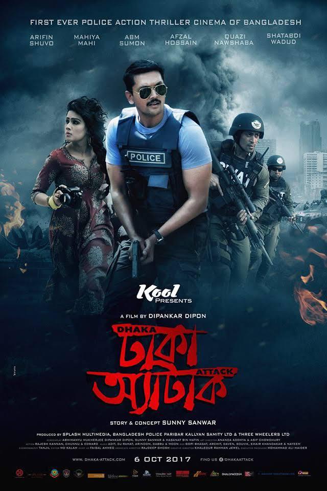 Dhaka Attack (2019) Bengali Full Movie Download HD-Rip  – 720P  – x264 –  1GB  Download