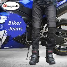 Online Shop <b>Riding Tribe Motorcycle</b> Men's Biker Jeans Protective ...