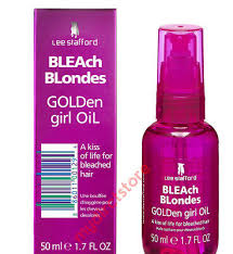 <b>Lee Stafford Bleach Blondes</b> Golden Girl Oil Restoring Smoothing ...
