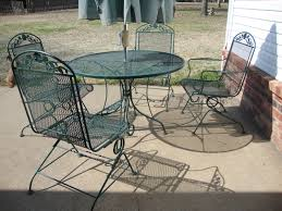 comfortable patio chairs aluminum chair: vintage wrought iron patio furniture design by woodard furniture for traditional patio design