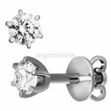 Пусеты с бриллиантами купить в Ростове-на-Дону 🥇