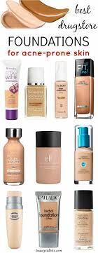 heal conceal it with these best foundations for oily acne e skin each of these offer all day shine free lightweight coverage that lets