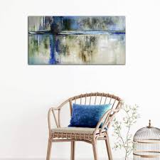 Abstract Painting Wall Art Canvas Picture Print ... - Amazon.com