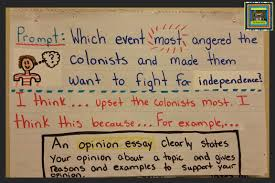 american history the pensive sloth content writing opinion essay anchor chart american revolution