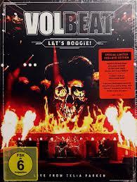 <b>Volbeat</b> - <b>Let's Boogie</b>! (Live From Telia Parken) (2018, DVD)   Discogs
