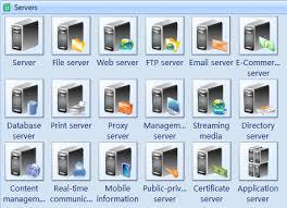 computer network symbolsservers symbols