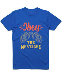 "<b>Футболка</b> ""<b>Obey</b> the mustache"" - Merch.Point - Be Unique"