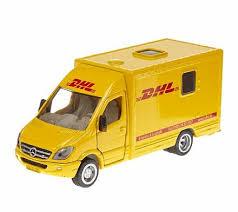 Игрушечная модель - <b>Почтовая машина</b> DHL, 1:50 от <b>Siku</b>, 1936k ...