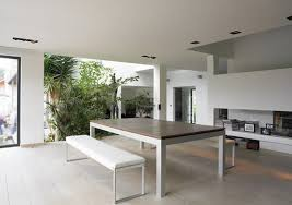 modern glass kitchen table recessed lighting and drum pendant lighting l shape pink kitchen cabinet nice tile backsplash stainless sink small space kitchen backsplash lighting