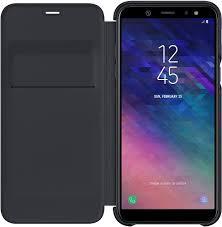 <b>Чехол Samsung Wallet Cover</b> для Samsung Galaxy A6 (2018) Black