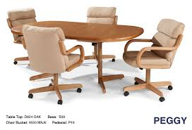 casual dining chairs with casters: douglas peggy douglas
