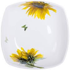 <b>Салатник</b> Ceramiche Viva Sunflower 24см купить, цены в Москве ...