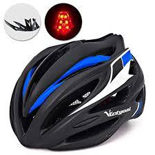 <b>VICTGOAL Bicycle Helmet</b> with Detachable Visor Back Light ...