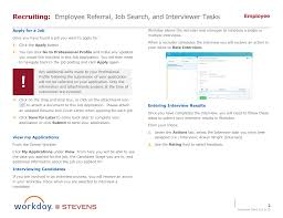 career worklet overview employee referral job search and employee referral page 2 png
