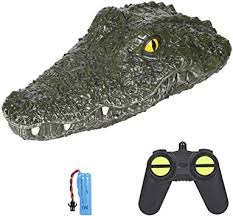 RC Boat Simulation Crocodile Head Electric Racing Boat with ...