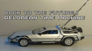 <b>Welly 1:24</b> Back To The Future I Delorean Time Machine Review