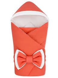 "Конверт-одеяло с капюшоном ""NewBorn"" Coral <b>CherryMom</b> ..."