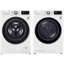 Комплект стиральной и сушильной машины LG TW4V9RW9W + ...