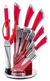 <b>Набор GIPFEL</b> Mirella 5 ножей, <b>ножницы</b> и мусат с подставкой ...