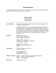 Internship Objective Resume Examples Accounting Internship Sample ... ... Internship Objective For Resume. SMLF