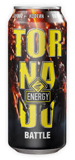 <b>Напиток энергетический</b> «<b>Tornado</b>» Energy BATTLE ...