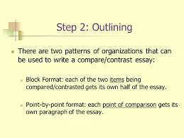 Compare And Contrast Essay Sample Point By Point sunsafesbo com