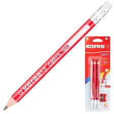 Купить <b>карандаш</b> чернографитовый <b>KORES JUMBO</b> ...