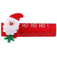 <b>Christmas Decoration</b> Refrigerator Door Handle Covers <b>Cartoon</b> ...