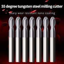<b>1PCS</b> Fresa HRC55 Ball Nose End Mills <b>Cutting</b> CNC <b>Machine</b> ...