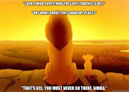 whats that shadowy place? Thats Stockton simba, you must never go ... via Relatably.com