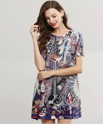 Pleated <b>Dress</b> Long Section Of The <b>Summer</b> New Women'S Printing ...