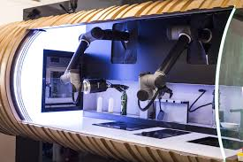 introducing the moley robotic kitchen create the future cooked by a master chef in your own kitchen whenever you want moley robotics has created the world s first fully automated intelligent cooking robot