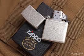 Нож <b>Зажигалка Antique Silver</b> Plate <b>ZIPPO</b> 121FB <b>Zippo</b> ...