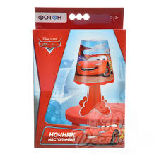 <b>ФОТОН Ночник настольный</b> DISNEY Pixar Тачки – купить в ...