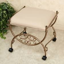 inspiration bathroom vanity chairs: beautiful vanity stool ideas for your bathroom unique brass vanity chair for bathroom with beige