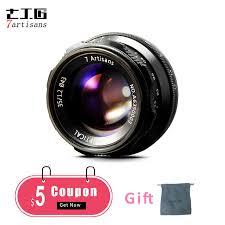 <b>7artisans 35mm F1</b>.<b>2</b> Prime Lens for Sony E mount Fuji XF <b>APS C</b> ...