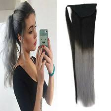 Human <b>Hair</b> Ponytail Extensions Combs for sale | eBay