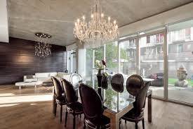 Chandelier Dining Room Dining Room Crystal Chandeliers For Luxury Lighting Choose The