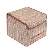 <b>Коробка для хранения Casy</b> Home Ротанг с крышкой 30x30x24см ...