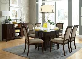 seater glass dining table cantilever chair