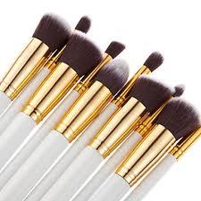 <b>Professional Makeup</b> Brushes <b>Makeup</b> Brush Set <b>10pcs Portable</b> ...