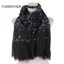 <b>FOXMOTHER New Fashion</b> Black White Navy Color Foil Sliver Star ...
