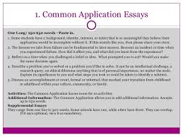 Writing Great College Application Essays That Pop  Orange County Scho    SlideShare     Common Application